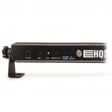 Pack 2 Barres à led HQ Power slim light - effet wash UV avec stroboscope blanc