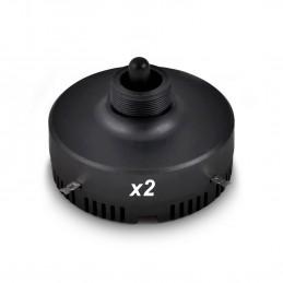 Lot de 2 moteurs 150 W pour  tweeters piézo électriques SP-DRS-PZO