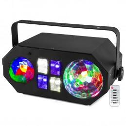 Projecteur à Led BeamZ LEDWAVE Jellyball - 3 effets - Vague, UV et Jelly + Télécommande