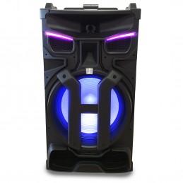 Enceinte active avec controleur DJ Pickering PKG18880 -LED- 1800W - USB/SD/BT/FM + Tel