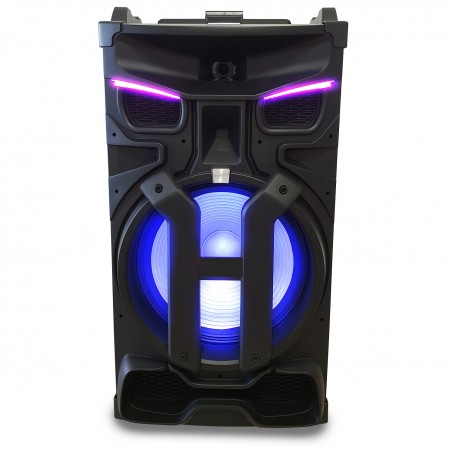 Active speaker with DJ controller Pickering PKG18880 -LED- 1800W - USB / SD / BT / FM + Phone