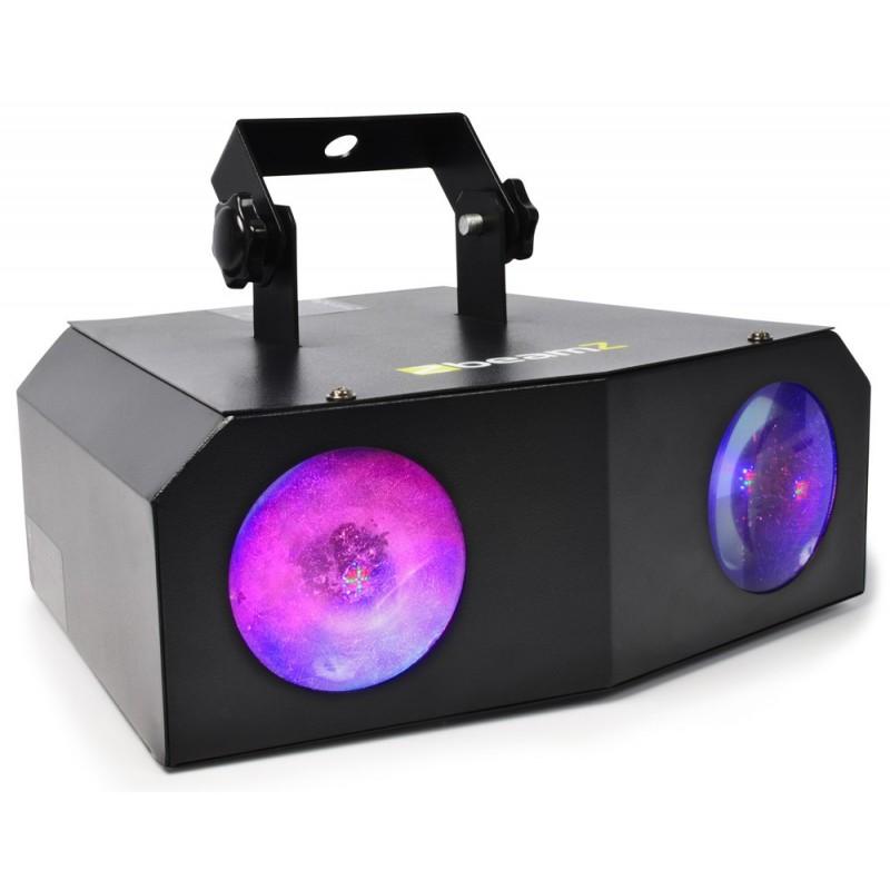 Jeu de lumière Noir DJ BEAMZ NOMIA 80LED RGBAW
