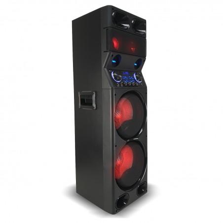 Active speaker TS450 LED - USB / BT / SD / FM - 450W + Remote