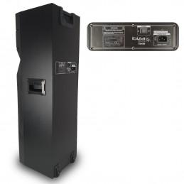 Enceinte active TS450 à LED - USB/BT/SD/FM - 450W + Télécommande