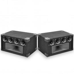 Pack 2 Systèmes de haut-parleurs tweeter 5 voies SoundLAB - 400 W