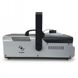 Machine à fumée Flash FLM1500 1320W - Capacité 2,25L + 2 Télécommandes (filaire/sans fil) et étrier de fixation