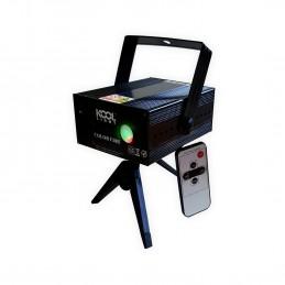 Laser KOOL LIGHT rouge 120mW/vert 40mW+ Led COLORFIRE