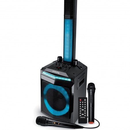 Active speaker Pickering Solo-Array All in One - 400W - LED - AUX / USB / BT / TWS + 2 Microphones