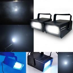Jeu de lumière - Mini Stroboscope à LEDs - Ibiza Light Strobe20LED