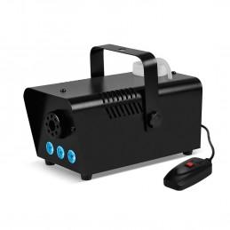 Mini Machine à fumée à LEDs bleues 400W + + Télécommande et érier fixation