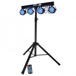 Pack Portique + Jeux de lumières Effets PAR/ASTRO DMX + Télécommande - Pur Light PACK-EOS
