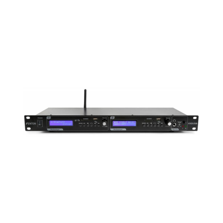 Fenton VX2USB Double lecteur avec fonction enregistrement USB/SD/BT