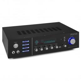 Skytronic AV-320-BT - récepteurs AV (Banana Connector/Binding Posts,  Bluetooth, Surround, avec Fil, MP3, RCA, SD)
