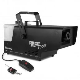 Machine à neige BEAMZ RAGE1000 avec télécommande filaire, cordon de 3 m et un contrôleur sans fil