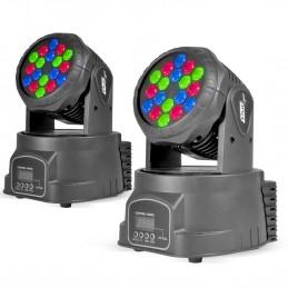 2 Pack Moving Heads LED...