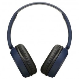 JVC HAS35BTAU Deep Bass Bluetooth On Ear Headphones¦17 Hours of Listening¦Blue