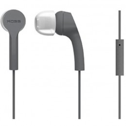 KOSS Casque intra-auriculaires stéréo KEB/9iGRY - Gris