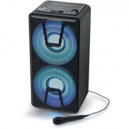 MUSE M-1820 DJ Enceinte Bluetooth Party Box - 150W - Lecteur CD - Compatible CD, CD-R/RW, MP3