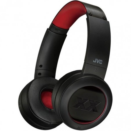 JVC - HA XP50BT - Casque Bluetooth - Noir/Rouge