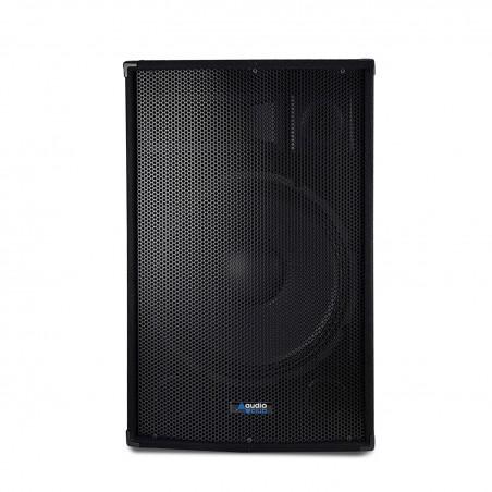 """Paire d'enceintes Sono Bass Reflex Trapézoïdal à 3 voies 15""""/38cm - 2 x 700W - AUDIO CLUB 15"""
