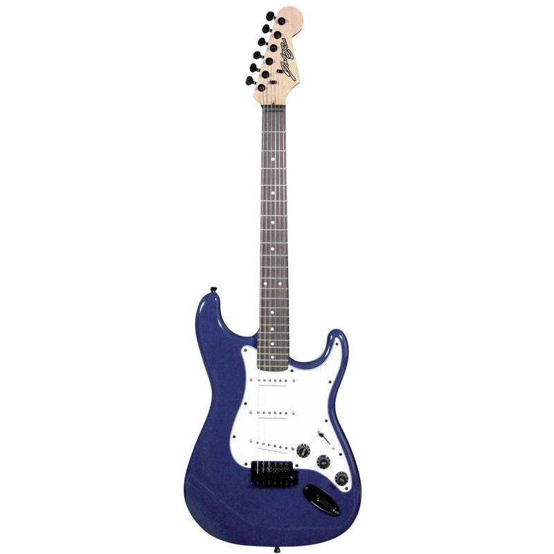 Guitare Electrique Johnny Brook Bleu + Câble Jack 6.35mm