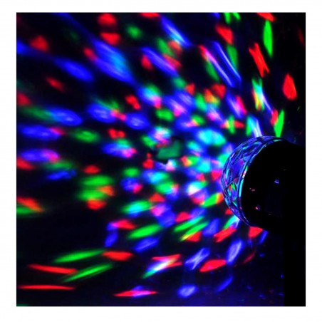 Jeu de lumière Party Sound & Light PAR ASTRO pour Soirée Animation - 4 LED RVBA Mode Auto - commandé par la musique