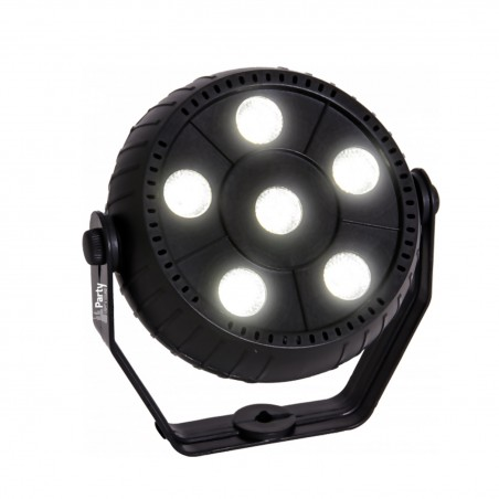 Game Party Light Sound & Light BY STROBE evening - 6 white LED 1.5W - Auto mode - controlled by music