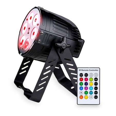 Light projector AFX PARLED615 RGBAW DMX 5 colors in 1 - Remote Control