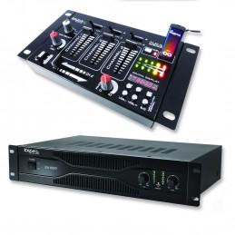 Pack PA amplifier 700W...