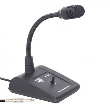 Micro Pupitre Professionel Eagle pour conférence - prise jack 6,35 mm.- pieds antidérapants