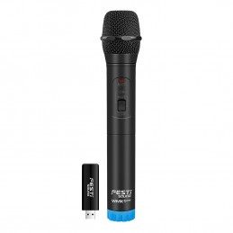 Système Microphone sans fil - FestiSound WMK1 via USB - Technologie UHF