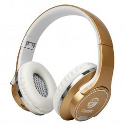 Casque + Enceinte My Deejay TWIST Gold 2 en 1 Pliable Bluetooth / Micro SD /Autonome
