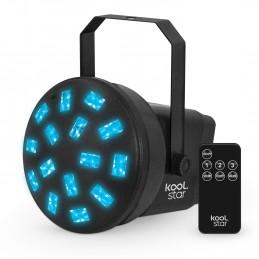 Mini Jeu de lumière Multi faisceaux rotatifs 6 LED Mode Auto/Sound + Télécommande - KOOLSTAR LEDMUSHROOM