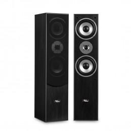 Paire d'enceintes Hifi/Home-Cinéma - Evidence Acoustics EA700-BK -  2x500W PMPO - Bass Reflex à 3 voies - Noir