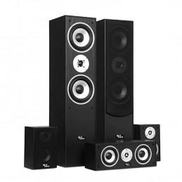 Ensemble Hifi/Home-Cinéma - Evidence Acoustics EA850-BK - 5 enceintes 850W - Bass Reflex