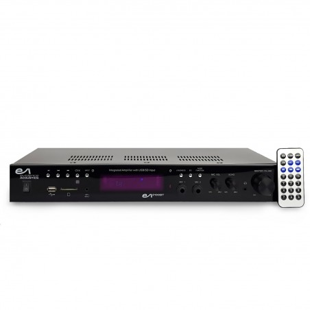 Stereo Amplifier - Evidence Acoustics EA-2100-BT - STEREO / KARAOKE 2 x 50W - ATM6000BT - BT USB SD FM