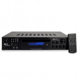 Amplificateur Hifi - Evidence Acoustics EA-7360-BT - Karaoke 5.2 / USB SD BT FM - 4 x75W + 3 x20W