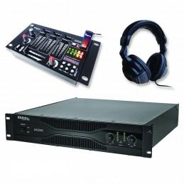 Pack PA amplifier 2000W...