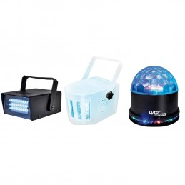 Pack of 3 sets of lights to...