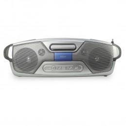 CDJ-1 Home Mix Platine CD avec Pitch Controle - Table de Mixage 2 Voies - Tuner FM - 2 x 25W