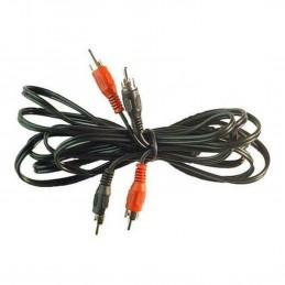 Cable Signal 2x RCA 5.0m Male Male