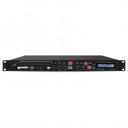 Gemini CDMP-1500 lecteur professionnel CD/MP3/USB simple (1U)