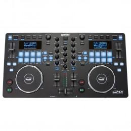 Gemini GMX contrôleur multimédia - controller USB et MIDI à deux platines + Logiciel Virtual DJ
