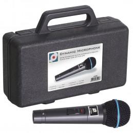 Microphone à main Soundlab Dynamic avec cordon et étui de transport - 600 Ohm
