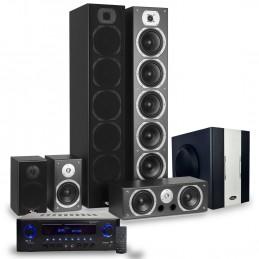 Ensemble Home-cinéma Hifi 1240W + Caisson de basses Actif + ampli 360W Evidence Acoustics + CABLE