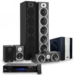 Ensemble Home-cinéma Hifi 1240W + Caisson de basses Actif + ampli 160W Evidence Acoustics + CABLE