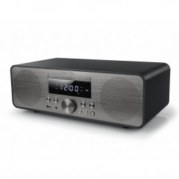 Système Chaîne hifi bluetooth avec radio FM, CD et port USB - 80W + Télécommande