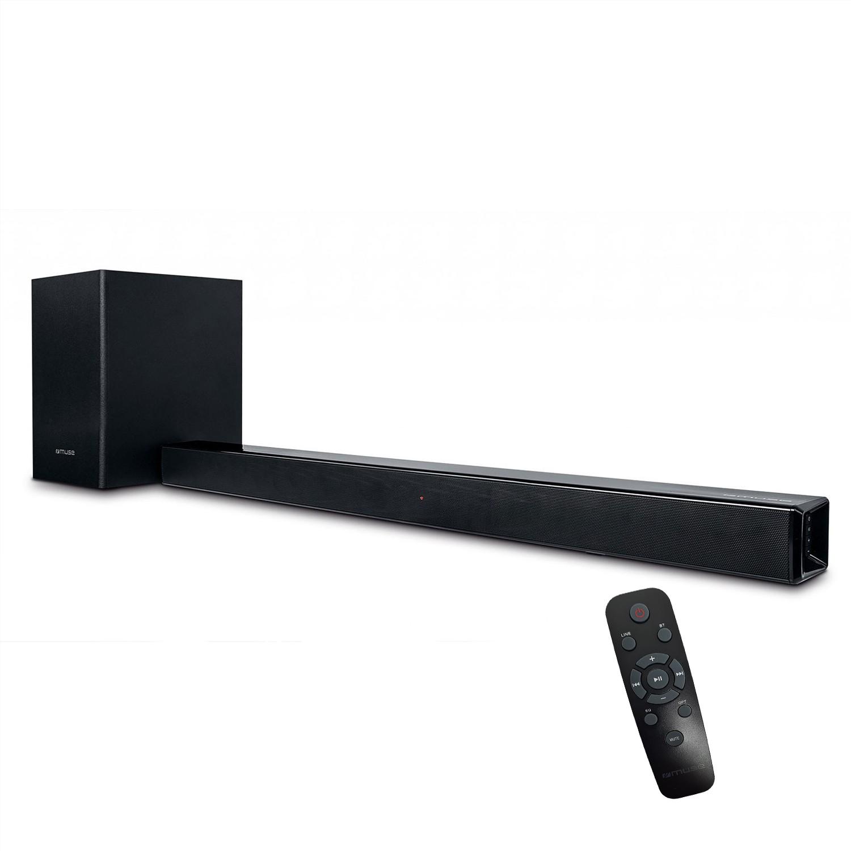 Barre de son avec caisson de basse sans fil - Bluetooth - 150W + télécommande