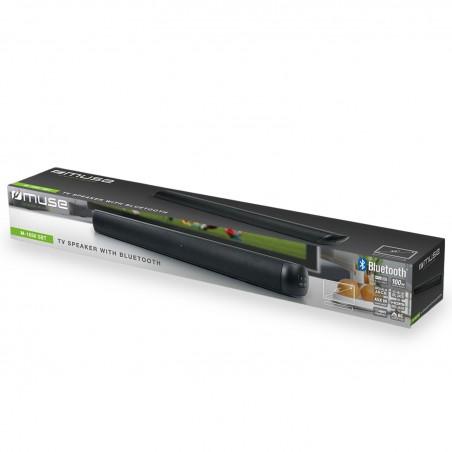 Barre de son Muse Bluetooth et HDMI ARC - 100W - USB/BT/AUX