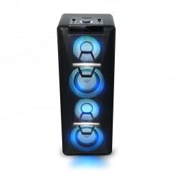Enceinte - Muse M-1950DJ - Bluetooth, avec Batterie, Lecteur CD et Effets Lumineux (USB, AUX),  500 Watt - Noir